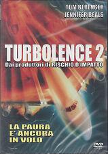 Dvd **TURBOLENCE II • 2 ~ PAURA DI VOLARE ~ Turbulence** nuovo sigillato 1999