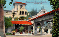 Vintage 1915 Court Arcade Glenwood Mission Inn Riverside CA Postcard Religious
