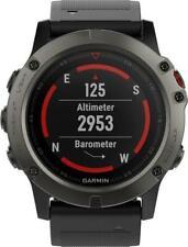 New Garmin fenix 5X Sapphire Smartwatch 51mm Fiber Reinforced Polymer Slate Gray