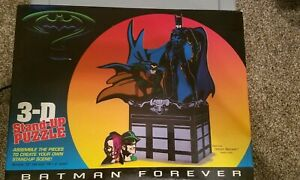 BATMAN FOREVER 3D STAND UP PUZZLE/4524-2/1995 SEALED NEW