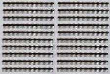 20 pcs 40 Pin 1x40 Male 2.54 breakable pin header - USA SELLER