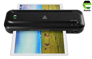 Econo A4 Heated Laminator Lamination Machine with Jam release for Home Office