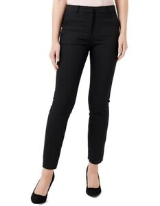 FOREVER NEW Black Stretch Slim Leg Pants Size 16 #22937