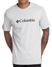 Brand New with Tags Authentic Mens Grey Columbia Limited Edition Logo T Shirt