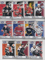 2003-04 Pacific Calder Silver /575 Lot of 11 Different Lindros Kovalev Recchi