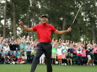 Tiger's 2019 Historical Win At Augusta National Golf Club - 8 x 10 Photo