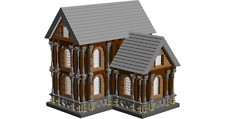 lego OLD RUSTIC MANSION instructions PDF, LDD and  Inventory List 3442 pieces