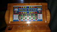 Antique Bally High Hand Slot Machine Coin Op Arcade Mills Jennings Pace