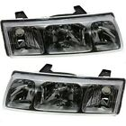 Headlights Headlamps Left & Right Pair Set NEW for 02-04 Saturn Vue