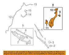 NISSAN OEM 07-12 Sentra Wiper Washer-Windshield Fluid-Reservoir Tank 28910ET000