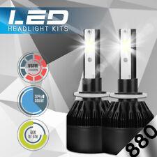 XENTEC LED HID Foglight kit 880 White for 1999-2002 Chevrolet Silverado 2500