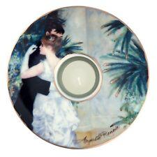 """Goebel PORCELANA SOPORTE DE VELA """"August RENOIR - Danza en la Stadt 1883"""" -"""