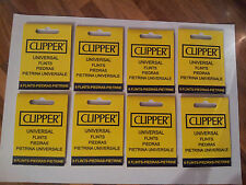 CLIPPER FLINTS (8 PACKETS OF 9 FLINTS) !! FREE DELIVERY !!