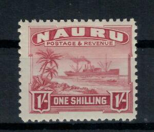Nauru Scott 27 in MVLH Condition