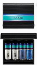 MAC irresistibly charming glitters and pigmets set blue New in box