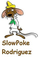 Slow Poke Rodriguez Iron On Transfer For T-Shirt & Other Light Color Fabrics #1
