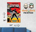 Marvel Secret Wars #8 Cover Wall Poster Multiple Sizes 11x17-24x36