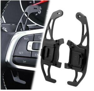 Aluminium Alloy Black Paddle Shift Gear Extension VW DSG MK7/7.5 GTI Golf R