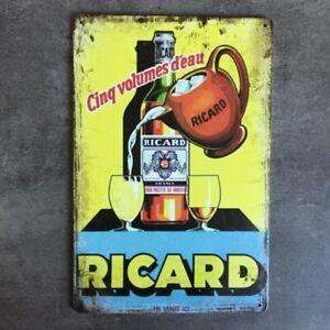 PLAQUE METAL RICARD 257