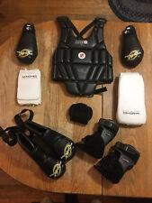 Complete Set ~ Century, Macho, & Donjoy Child / Womens Kick Boxing Gloves & Pads