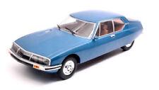 Whitebox Wb124025 Citroen SM 1970 Metallic Blue 1 24 Modellino Die Cast Model