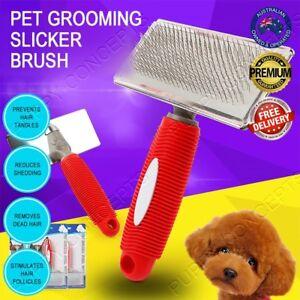Hair Shedding Grooming Trimmer Comb Brush Slicker Undercoat Rake Pet Dog Cat