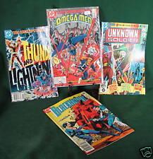 DC Comics Lot of 4 Blackhawk Teen Titans Unknown Soldie