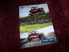 Catalogue  / Brochure POLARIS Sport 2013 //