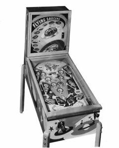 Genco Flying Saucers Pinball Machine 1950  8x10 Photography Reprint