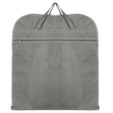 Hoesh Grey Breathable Mens Travel Suit Cover Carrier Garment Travel Bags