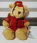 TEDDY BEAR COLLECTION PLUSH TOY ABOUT 18CM SEATED! BARNEY BELLBOY SOFT TOY!