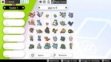 Pack all Gigamax 33 Pokémon Shiny 6iv - Battle Ready + 33 MASTER BALL