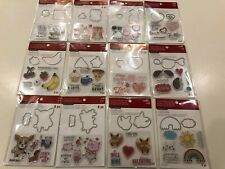 Cute Valentine's Day Stamp and Die Sets by Recollections - Pick 1 of 12 NEW!