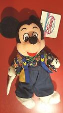 Disney Japanese Mickey wearing Kimono Bean Bag w/tags Traditional