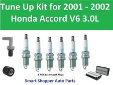 Tune Up Kit for 2001-2002 Honda Accord V6 Air Filter, Oil Filter, Spark Plugs
