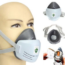 Anti-Dust Respirator Mask Welder Welding Paint Spraying Cartridge Gas Mask NJ