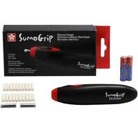 Sakura Sumo Grip Electric Eraser Set w/ Batteries and Refills - Cordless EE-3000
