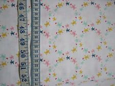 Salt Water fabric collection Small Turtles on White - sold per Fat Quarter