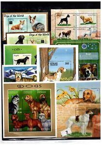 BD 10 S/S - MNH - MIX - PETS - ANIMALS - DOGS - WHOLESALE