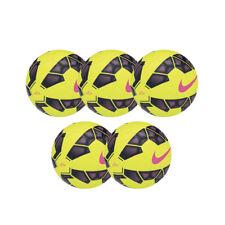 Lotto 5 unidades Balón De Fútbol Fútbol sala Nike Tono Amarillo Fluo Misura 4