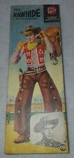 UNBUILT PYRO TV RAWHIDE WESTERN COWPUNCHER ERIC FLEMING PLASTIC MODEL KIT #276