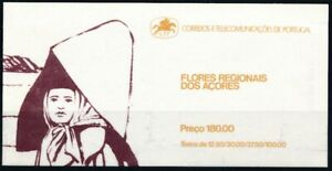 [P5746] Portugal Acores 1983 Flowers good complete booklet very fine MNH