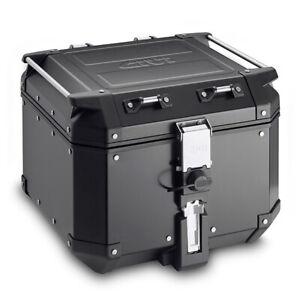 GIVI OBKN42B Outback Trekker MONOKEY® Black Aluminium 42L Top Case Box