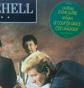 EDDY MITCHELL : M'MAN (avec sticker original !) ♦ LP 33 Tours + Paroles