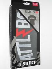 T-Shirt: Killers - Battle Born, Größe L, Grey, NEU & OVP (A9/2)