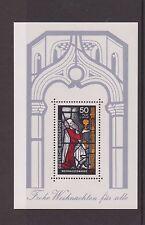 WEST GERMANY MNH MINT STAMP DEUTSCHE BUNDESPOST 1977 CHRISTMAS SHEET  SG MS1845