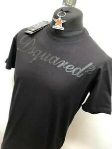 Brand new  DSQUARED2 Crew tshirt in black   Reg fitting      SMALL