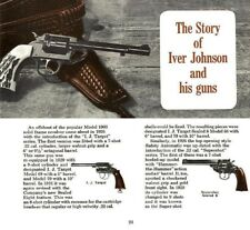 Iver Johnson c1971 History & Gun Catalog