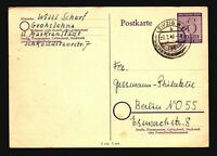 Germany 1946 6pf Violet Postal Card Used - Z14832