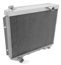 1957 - 1959 Ford Ranchero Radiator Aluminum 3 Row Champion 4.4L, 4.8L,5.4L, 5.8L
